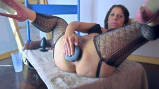 Argendana doing The First Instructional Video Ever About Extreme Anal