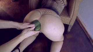Argendana doing really nasty stuff with her loose stretched out wrecked asshole. Double fisting, huge anal plug, huge dildos and more