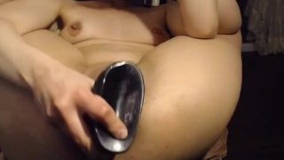 Vixenmoon: Extreme Anal Solo, punchfisting and toy masturbation