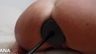 Shell Shock attached to a fuckingmachine destroys Lana's asshole by lovesanalxxx